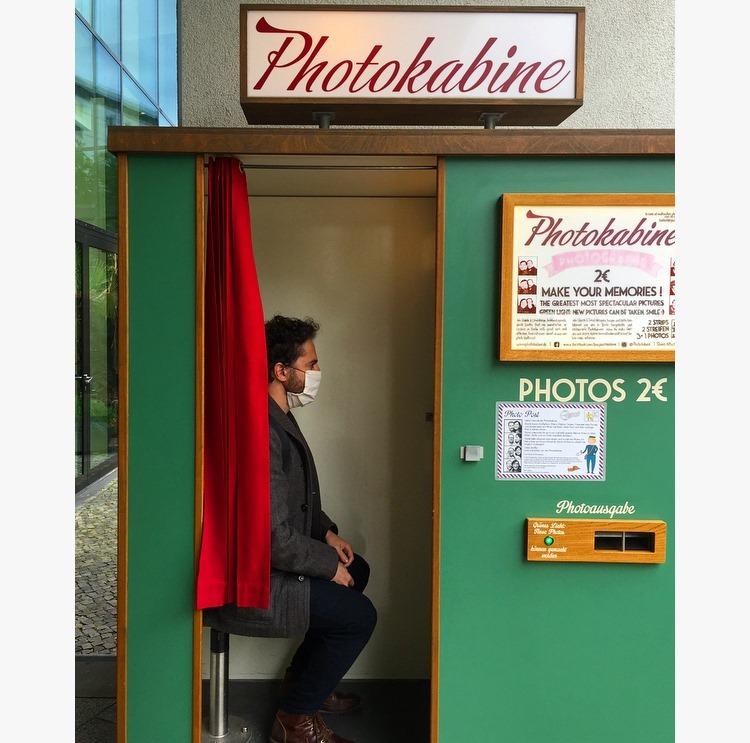 מרב מרודי, Photokabine, עבודה שנרכשה לאוסף ICP - המרכז הבינלאומי לצילום בניו יורק. צילום: מרב מרודי, מאי 2020.