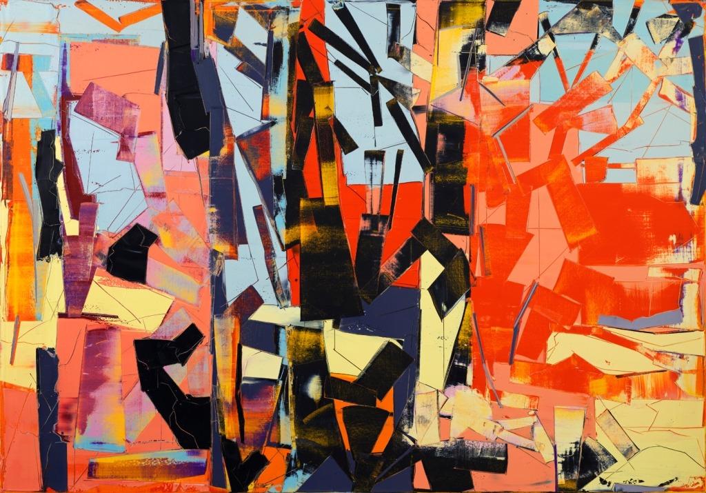 גלעד אפרת, ללא כותרת, 2016, שמן על בד