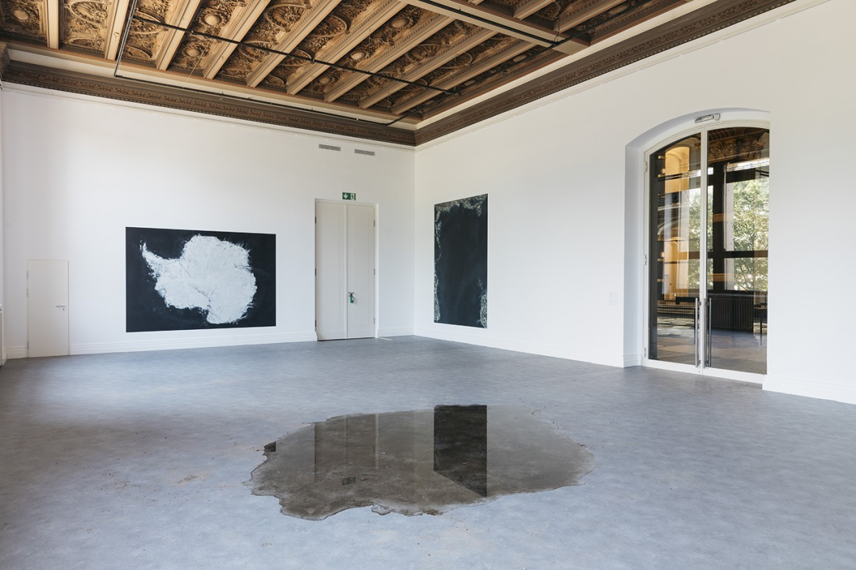 Installation view Down to Earth. Climate Art Discourse unplugged, Gropius Bau, Berlin, 2020
