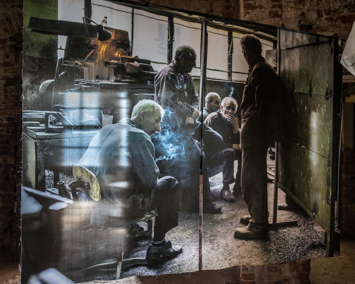 Norayr Kasper Steel Life #41, 2015  © Norayr Kasper