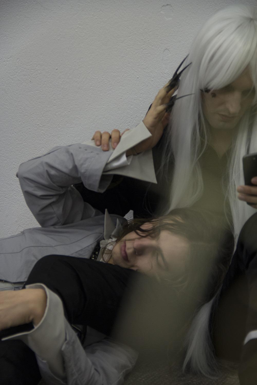 Dorota Gawęda and Eglė Kulbokaitė In the Spill ( Amadeus and Azur), 2020. Courtesy of the artists.