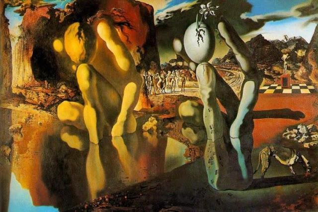 סלבדור דאלי, המטמורפוזה של נרקיס, 1937