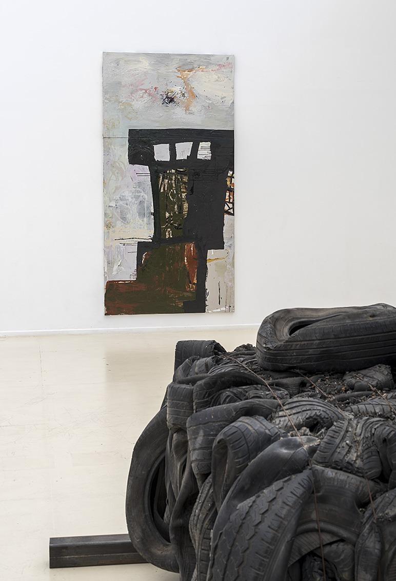 ציבי גבע, 'דרך איפה אני מגיע', מוזיאון הרצליה, 2019-2020. אוצרת: איה לוריא. צילום: אלעד שריג, באדיבות ציבי גבע