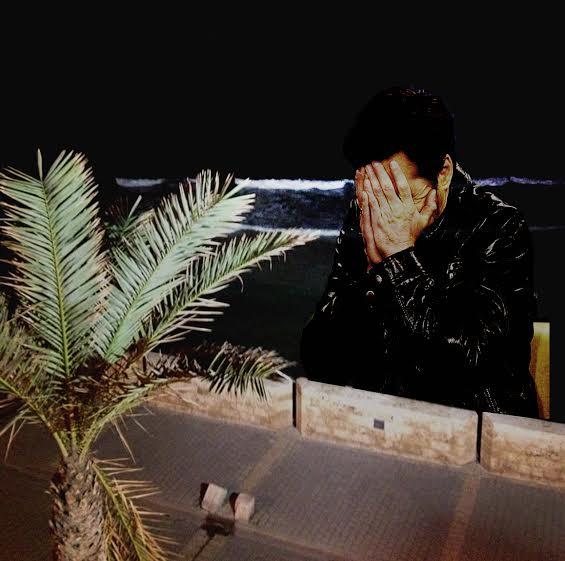 """איתן בן משה וטוני נבוק, """"לשחרר פרפר"""", קולאז'ים דיגיטלים, 2015"""