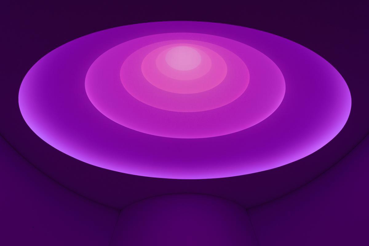 James Turrell, installation view, Solomon R. Guggenheim Museum, New York, 2013