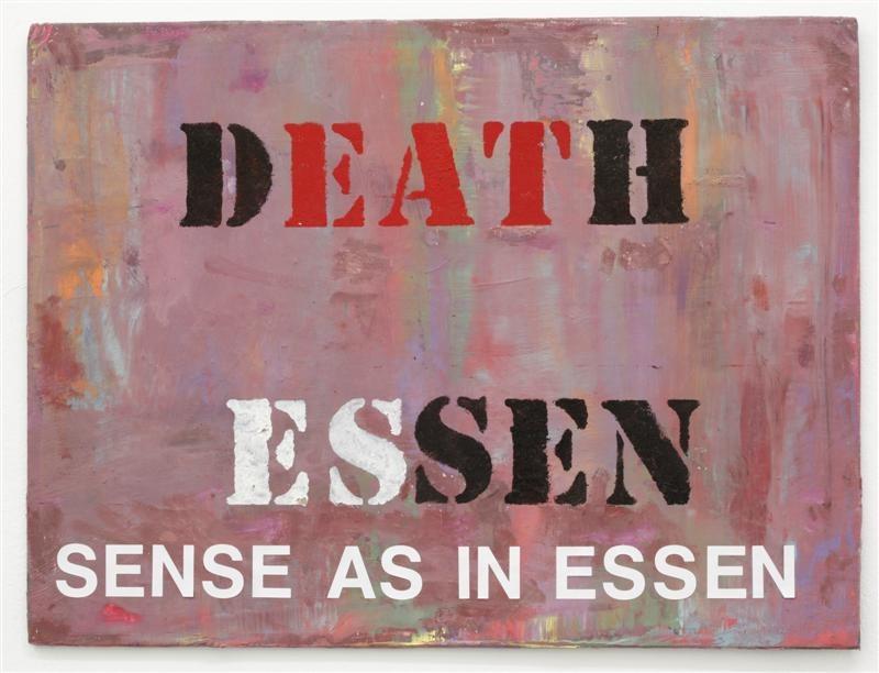 """מיכל נאמן,  Sense as in Essen, 2014, 50X40 ס""""מ"""