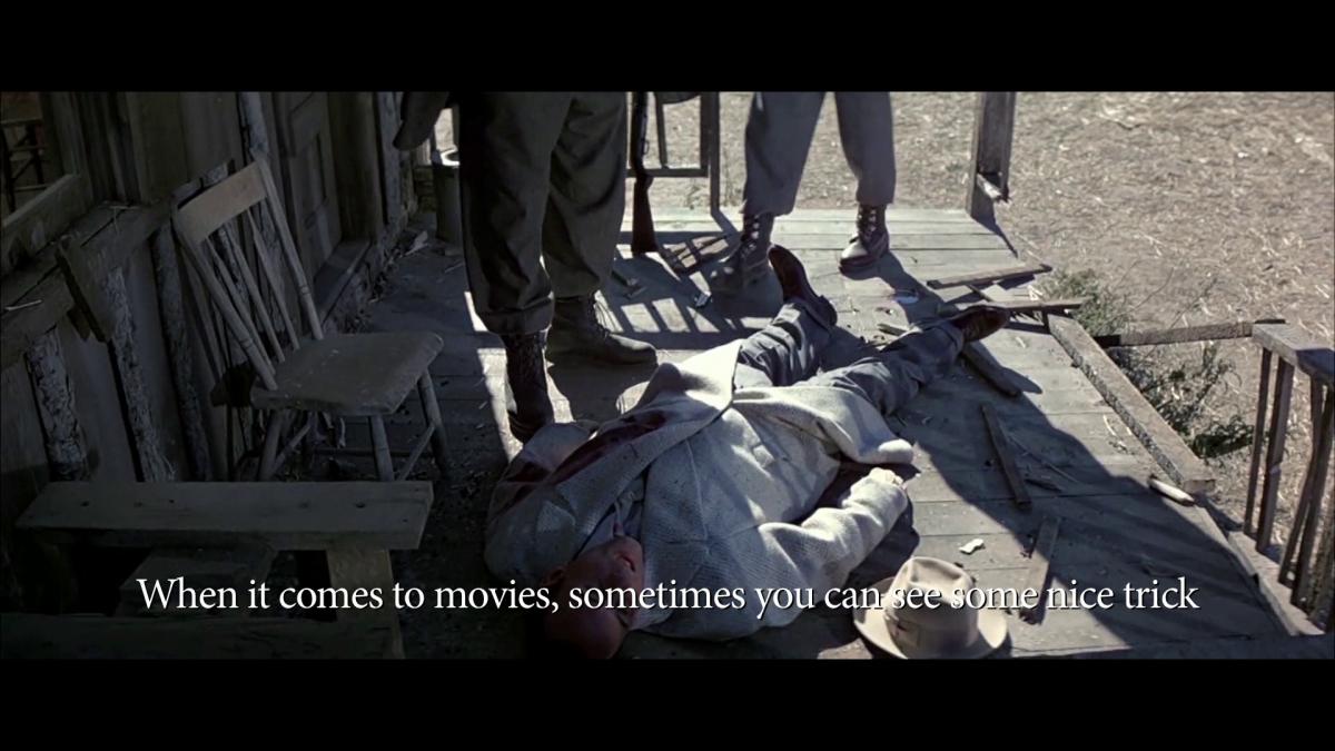 Still from The Untouchables, dir. Brian De Palma, 1987, 1 hr 59 min, USA